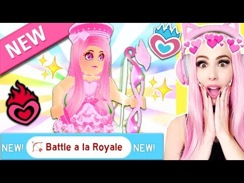 Reacting To Royale High's FIRST EVER MINIGAME! Royale High Brand New Valentine's Day Update