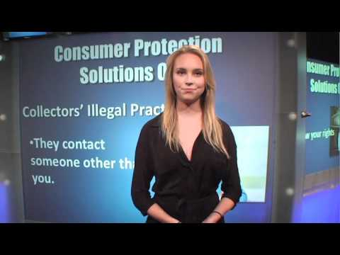 Consumer rights in debt collection cases. Stop collection agency harassment cold!