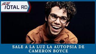 Sale a la luz la autopsia de Cameron Boyce