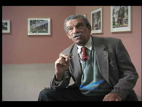 Derek Walcott Sequence at the NYS Writers Institute in 1998