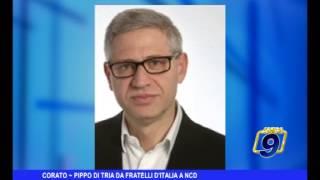 Corato | Pippo di Tria da fratelli d'Italia a NCD