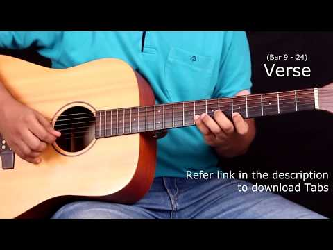Raabta Title Song - Guitar Tabs (Lead) || Lesson / Tutorial + Cover