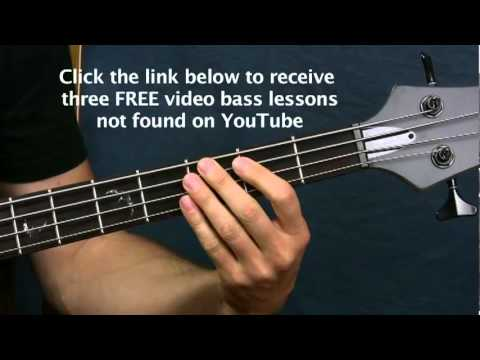 easy bass guitar lesson highway to  hell acdc