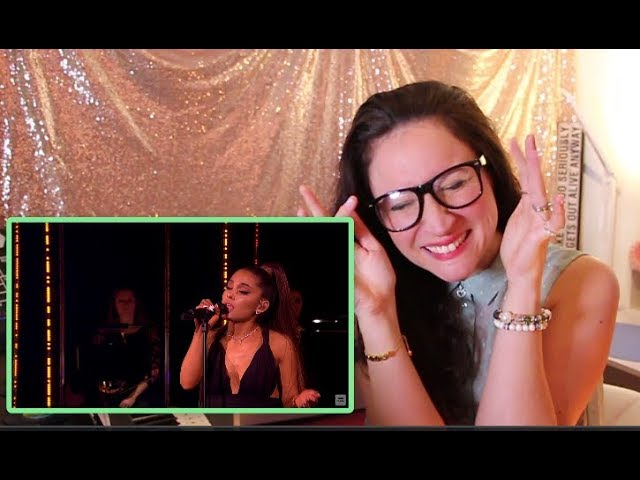 Vocal Coach Reacts To Ariana Grande God Is A Woman Ariana Grande At The Bbc
