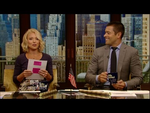 Kelly Ripa Reads Mark Consuelos' High School Yearbook