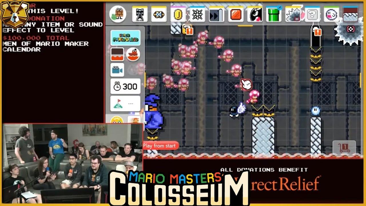 Barb And Panga Build A Level? TOGETHER!? Mario Masters Colosseum 3