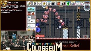 Barb And Panga Build A Level? TOGETHER!? Mario Masters Colosseum 3