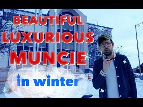 Beautiful Luxurious Muncie in Winter