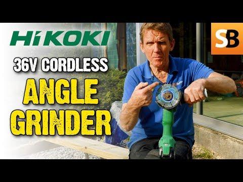 HiKOKI 36V Brushless Cordless Angle Grinder