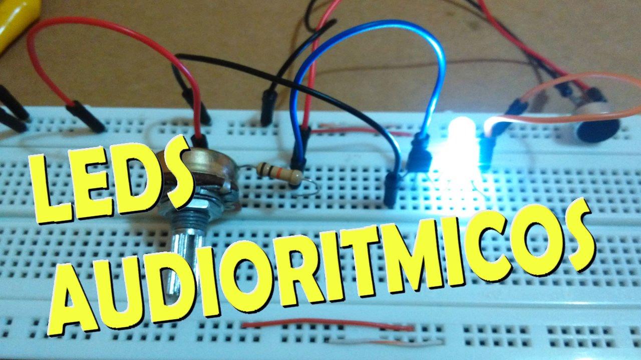 Circuito Luces Audioritmicas : Luces audioritmicas muy fácil de hacer youtube