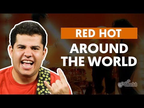 AROUND THE WORLD - Red Hot Chili Peppers (aula de guitarra)