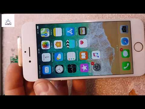 Не работает кнопка Home, Tooch Id; Remont Iphone 6  Vosstanovlenie Touch Id U2100
