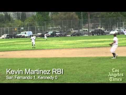 San Fernando wins baseball showdown with Kennedy