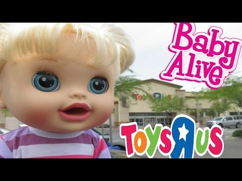 Thumbnail: BABY ALIVE Toys R Us HAUL & Outing With Audrey For The First Time!