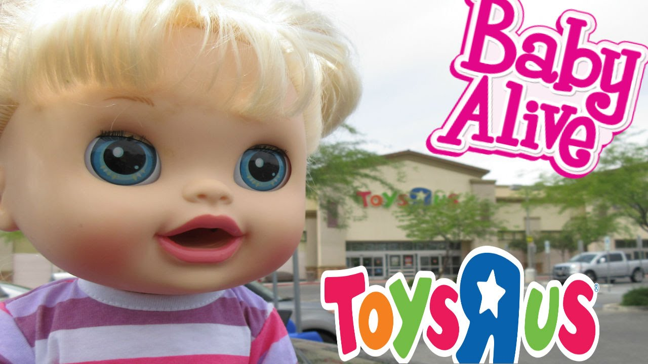 Toys R Us Baby Dolls : Baby alive toys r us haul outing with audrey for the