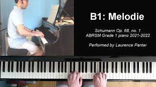 B:1 Melodie (ABRSM Grade 1 piano 2021-2022)