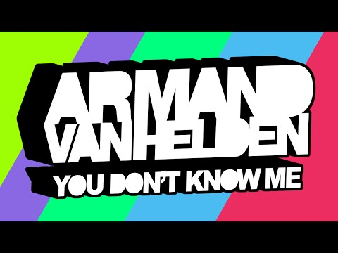 Armand Van Helden - You Don't Know Me (Full Album)