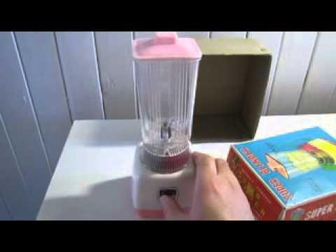 Super Blender Alps Japan Vintage Toy Battery Operated 1960