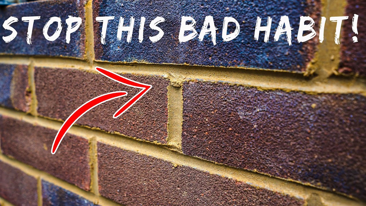 BRICKLAYING | STOP DOING THIS!