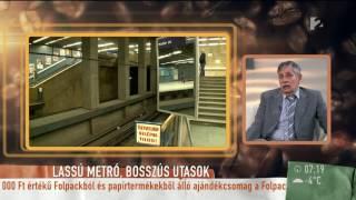 Kevesebb szerelvény közlekedik az M2 vonalán a baleset óta - tv2.hu/mokka