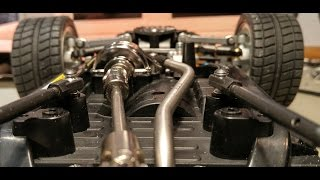 Repeat youtube video Pajero Drifter CC01- Making the Steering Link to the rear mounted servo