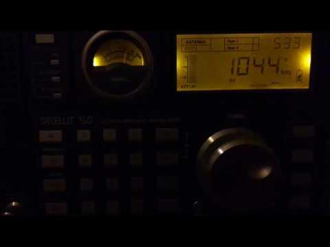 Radio Daffy Greek Pirate 1044 khz from Athens received in Kastoria Greece