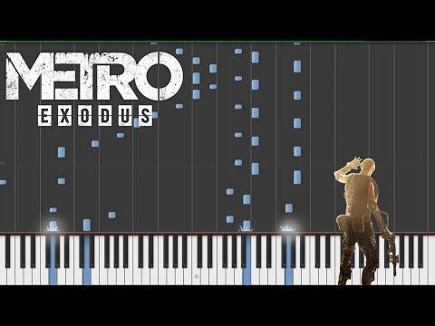 Metro Exodus - Race Against Fate (Piano Tutorial)