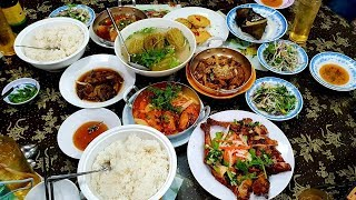 Food for good #211: Ngon bá chấy mắm cá sửu và ba khía tiệm cơm Quế Phát Long Xuyên