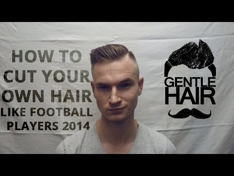 how to style male hair how to cut your own hair for football players 9263 | hqdefault