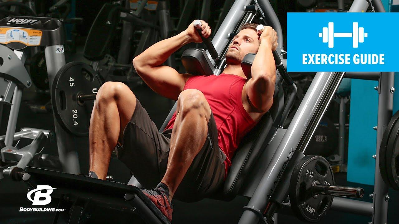 hack squat foot placement for quads