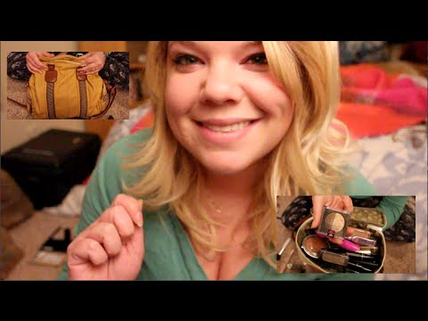 3D *What's in my Purse/ Makeup Bag?*~ Except Relaxing!~