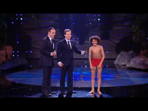 Callum Francis - Britain's Got Talent 2009- 4th Semi Final - Jungle Book 'Bare Necessities' HQ
