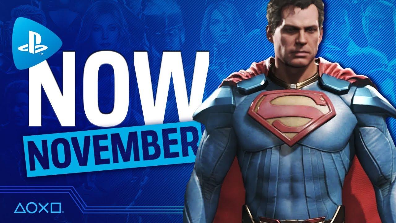 PlayStation Now - New Games November 2020