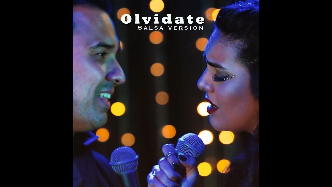 Angela Leiva Feat Irving Manuel Olvidate Salsa Version