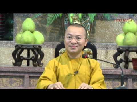 Vấn đáp: Tam pháp ấn, vô ngã, quy y và đối thoại tôn giáo (05/06/2014) - Thích Nhật Từ