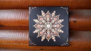 How to paint dot mandalas with Kristin Uhrig #51- Chai Latte