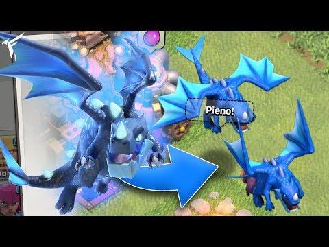 NUOVO DRAGO ELETTRICO + RIASSUNTO AGGIORNAMENTO Th12 Clash of clans