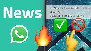 WhatsApp Gruppeneinladung ablehnen und weitere WhatsApp News
