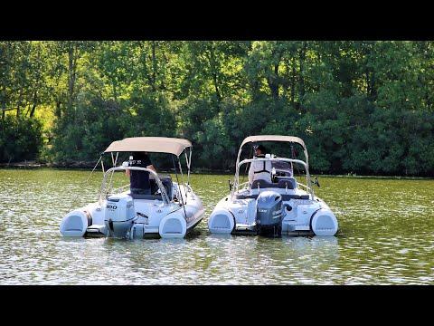 Полювання на човен GRAND G580 Vs G500 (частина 2)