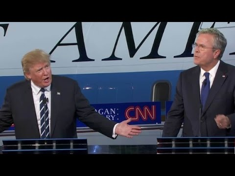 Trump, Bush battel over women's rights