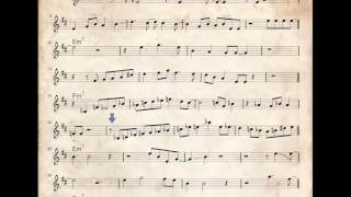 Miles Davis jazz trumpet solo   So What   how to play it   Bb transcription