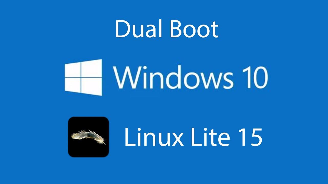 dual boot windows   linux lite  youtube