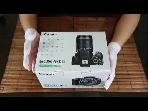 แกะกล่อง Canon EOS 650D with EF-S 18-135 IS STM Lens Kit (Unboxing in Thai Language)