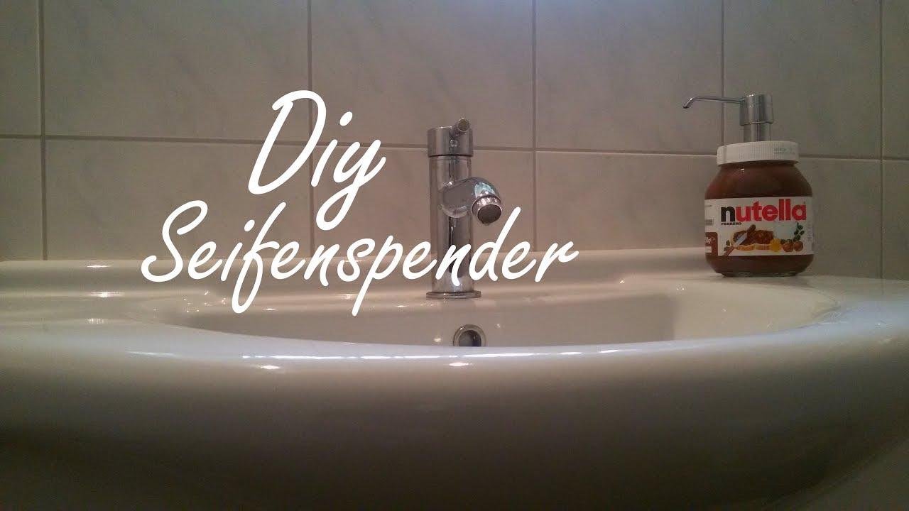 diy nutella seifenspender selber machen youtube. Black Bedroom Furniture Sets. Home Design Ideas