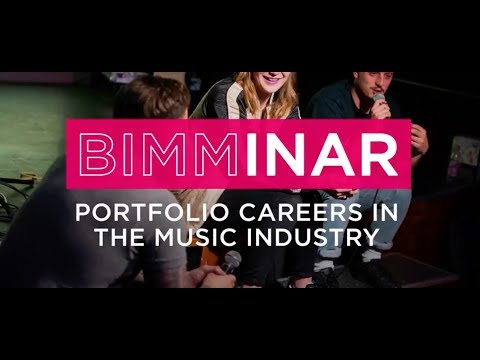 BIMMinar: Portfolio Careers in the Music Industry