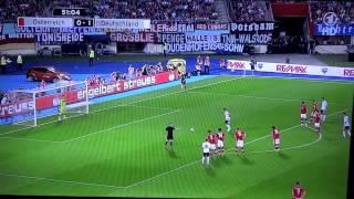 Mesut Özil Elfmeter (Österreich vs. Deutschland 2:1 (11.09.2012)