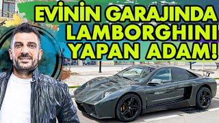 Evinin Garajında Kendi Lamborghini'sini Yapan Adam!