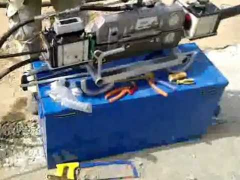 Cable Pulling By Machine - YouTube