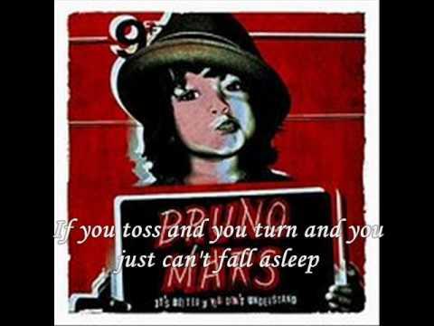 Bruno Mars - Count On Me W/ LYRICS ON SCREEN