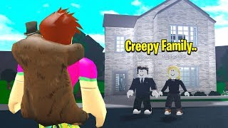 I Found A CREEPY FAMILY.. I Discovered EVIL SECRETS! (Roblox)